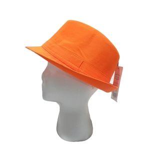 Neon Fedora Style Hat NWT